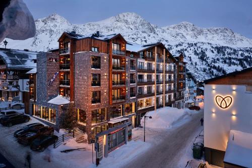 33 hot is 4 estrelas em obertauern ustria for Hotel manggei designhotel