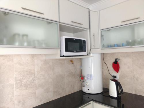 Una cocina o kitchenette en Mein Gästehaus