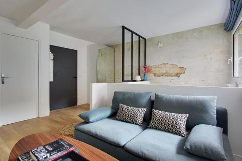 Khu vực ghế ngồi tại Pick a Flat - Eiffel Tower / Champs de Mars apartments