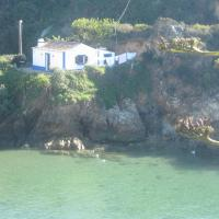 Fisherman House on the Seafront