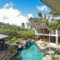 Celebrity 5 Bed rooms suites near Lanikai Beach