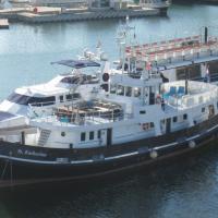 Boat St. Katharine Barcelona