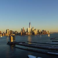 One Bedroom Suite Facing Manhattan Skyline