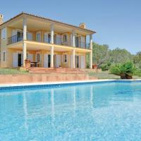 Four-Bedroom Holiday home with Sea View in Puntiro; Palma