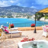 Cap Ferrat Luxury Terrace Sea Front