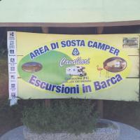 Area Sosta Camper Cavallari