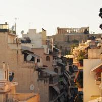 Classy Acropolis View Apartment