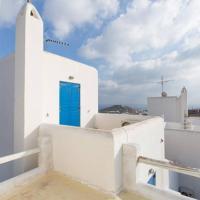 Apartment with Pool & Sea View Ornos-2