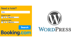 The Booking.com Search Box Plug-in for Wordpress