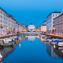 Trieste 648 hotéis