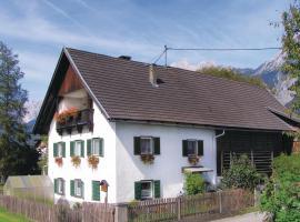 Apartment Gasse VII, Oberhofen im Inntal (Perto de Pfaffenhofen)