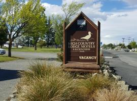 High Country Lodge, Motels & Backpackers