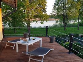 Дом на берегу реки в 15 км от центра Риги, (( Maruška ))