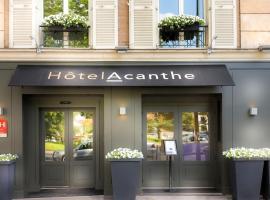 Quality Hotel Acanthe - Boulogne Billancourt