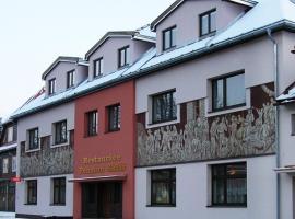 Penzion a restaurace Sklář, Karolinka (Perto de Velké Karlovice)