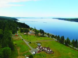 Two Eagles Lodge, Union Bay (Perto de Hornby Island)