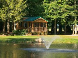 Alpine Lake Lakefront Cabin 6, South Corinth