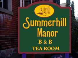 Summerhill Manor Bed & Breakfast and Tea Room, Port Hope