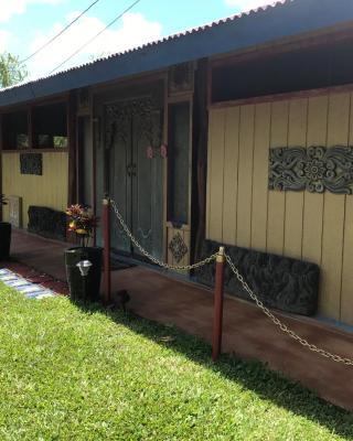 Hawaiian Balinese Temple House