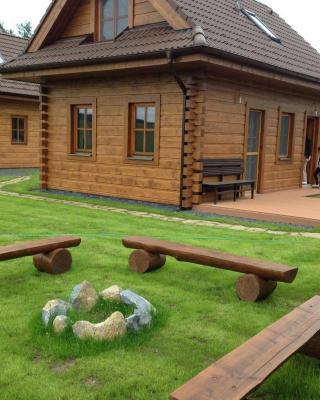 Chata s výhľadom na Tatry
