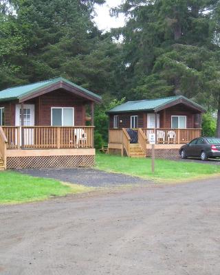 Seaside Camping Resort Studio Cabin 3