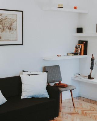 ScandiLoft Apartment. Seaside zone