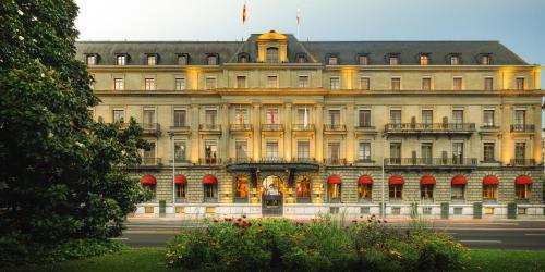 Los 10 mejores hoteles de lujo en ginebra suiza for Booking hoteles de lujo