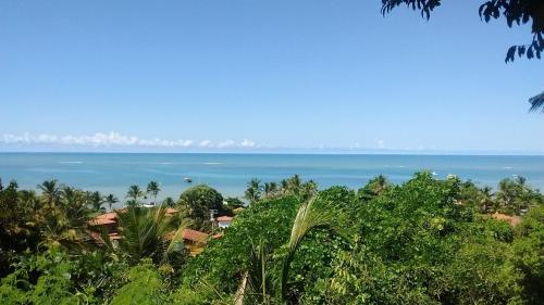 Casa Charmosa sobre o mar de Cumuruxatiba