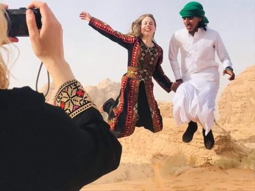 Abdullah tour and camp