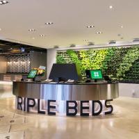 Green World Triple Beds