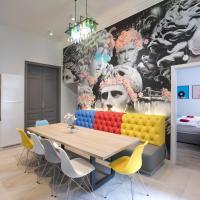 FACES Apartment-luxurious design in vibrant centre