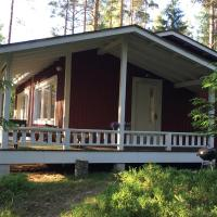 Lake house with sauna