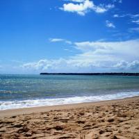 Apto Grande na Praia