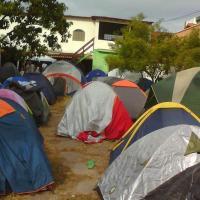 hospedaria camping Rio das ostras