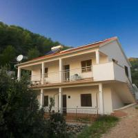 apartment with 4 bedrooms in gdinj, with wonderful sea view and enclosed gard...