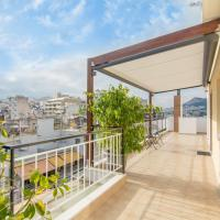 Urban Penthouse w/ 360 view of Athens