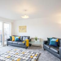 Bright and Modern 2 Bedroom City Apartment
