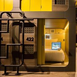 מלונות קספולות  95 מלונות קפסולות ב-Shutoken