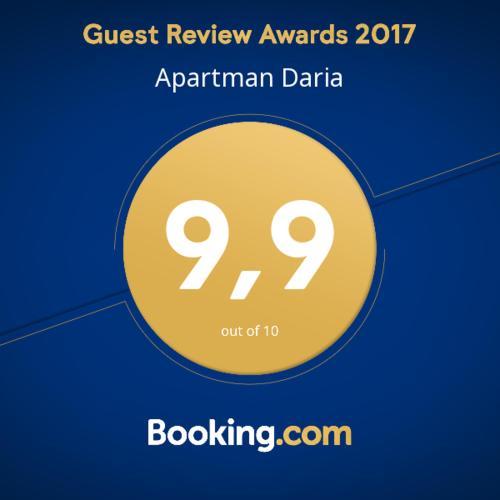 Apartman Daria Awards 2017