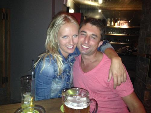 Mrs and Mr Sindlarovi, owners